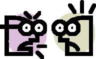 arguing heads
